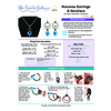 INSTRUCTIONS - Nouveau Earrings & Necklace - Left hand PDF, INS-NOUVEAU-L