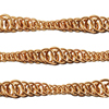 Persian Variations, MAIN IMAGE CAN GO HERE, tapered persian ripple chain maille in copper