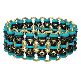 Xs and Os Bracelet, KIT - X's and O's - Customizable,