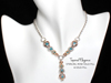 Tapered Elegance Exclusive Kit, KIT - PRE-ORDER - Tapered Elegance Exclusive kit (WAS $132), elegant chainmaille necklace in gold, silver and rose gold